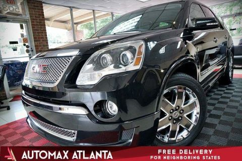 2012 GMC Acadia ***NAVIGATION AND BACKUP CAMERA***