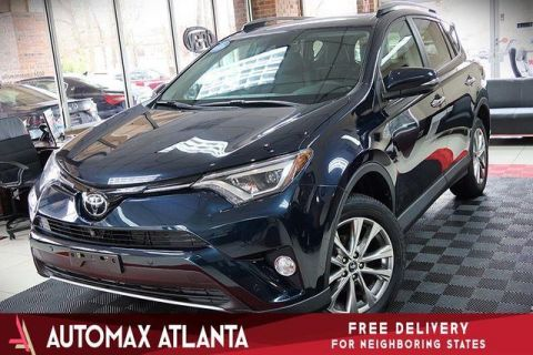 2017 Toyota RAV4 ***limited***navigation and sunroof