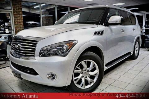 2011 INFINITI QX56 NAVIGATION AND BACK UP CAMERA