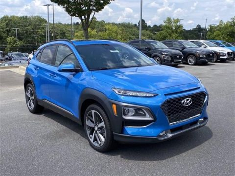 New 2021 Hyundai Kona Ultimate Front Wheel Drive SUV